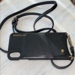 Bandolier Emma Pebble Leather Crossbody XS Max